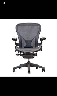 BN Herman Miller fully loaded posturefit Aeron Chair