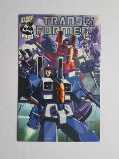 Transformers Generation One  2 Near Mint Condition Decepticons Variant Dreamwave  Comics