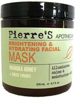 Pierre's Apothecary Brightening and Hydrating Facial Mask