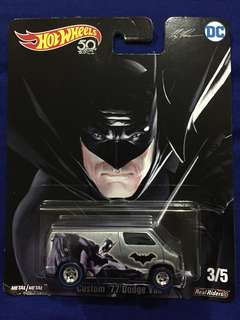 Hot Wheels DC Batman- Custom 77 Dodge Van