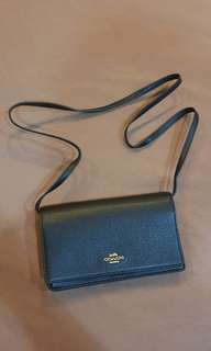 Coach Foldover Clutch Crossbody