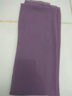 Twist cone pashmina dusty purple
