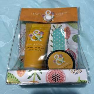 Leafy & Lovely Summer Meadow Mini Hand and Lip Set