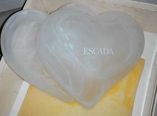 Branded Heart shape glass holder