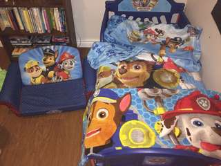 Paw patrol bed and comforter set