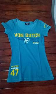 Von dutch shirt