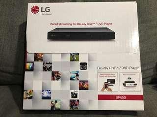 LG Blu-ray Disc/DVD Player