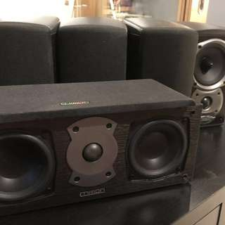 Mission speakers 4xe30 1xmh-6