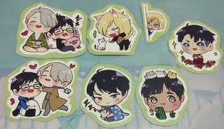 [Free with purchase] Doujin anime stickers