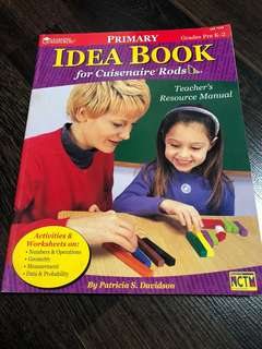 Pre-loved in good condition cuisenaire rods idea book