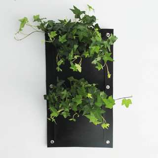 [Ready Stock] 2 Pocket Vertical Garden Hanging Wall Planter