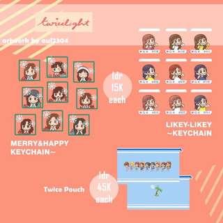Twice - Keychain & Pouch