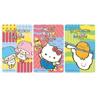 【現貨】台灣代購 Gudetama Hello Kitty Little Twin Stars x Wei Wei 蛋黃哥 雙子星 悠遊卡 八達通