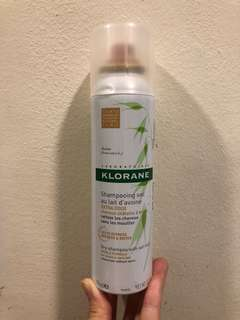 Klorane Dry Shampoo with Oat Milk (Natural Tint)