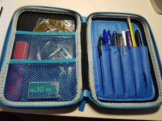 Smiggle Pencil Case with STATIONERY