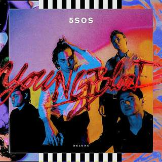 5 Seconds of Summer [Youngblood] Signed Deluxe Edition CD