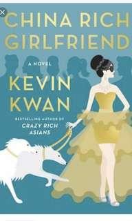 Kevin Kwan - China Rich Girlfriend