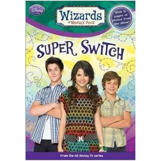Super Switch  Paperback Wizards of Waverly Place (Paperback) English  Adapted by  Heather Alexander