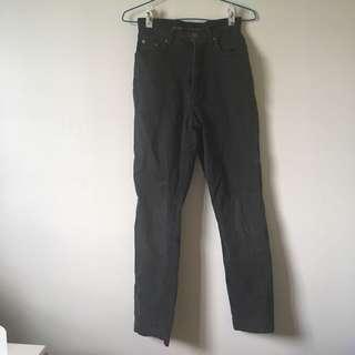黑色素長褲