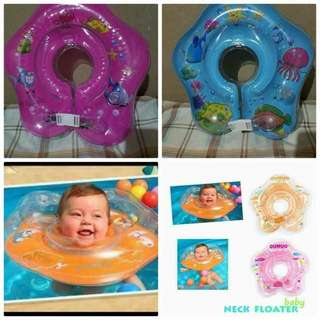 🍓NECK FLOATER for babies and Kids swimming gear for baby