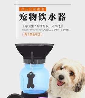🚚 擠壓式寵物飲水瓶