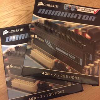 Corsair Dominator 2GB x 4 DDR3