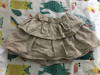 Trudy & Teddy Beige Skirt