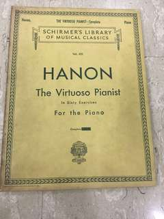 Schirmer's library of musical classics Hanson the virtuoso pianist