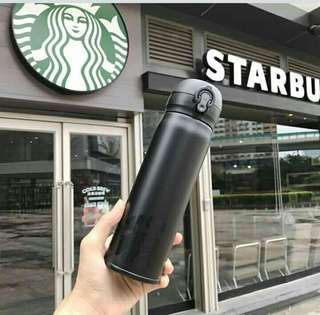starbucks.matte.black edition tumbler