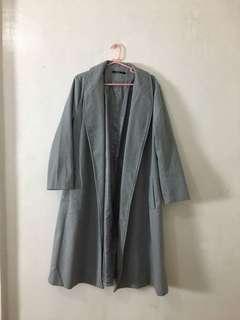 Womens Gray Coat