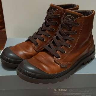 Sepatu Boots Palladium Pampa Hi Leather original kolpri size 39.5 kondisi 99%
