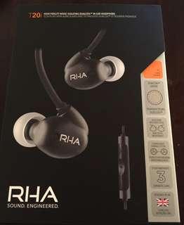 RHA T20i Black Edition