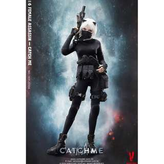PRE-ORDER : Very Cool VCF2033-B - 1/6 Female Assassin Series - Catch Me (with Scarred Head Sculpt)