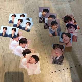 [WTT] BTS Love Yourself Tear Official Photocards
