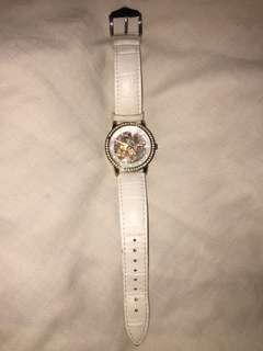Anne Klein Rose Gold Automatic Self winding skeleton with swarovski watch