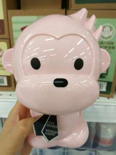 <Pre-order>Monkey coin box/Piggy bank