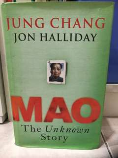 Hardcover Book - Mao, The Unknown Story
