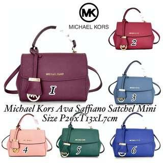 Michael Kors Ava Saffiano Mini