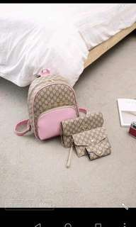 korean Backpack 4 in 1