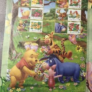 Winnie The Pooh Stamps LIMITED EDITION 4 Different designs