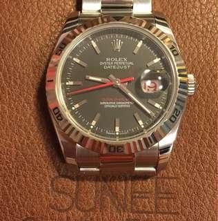 Rolex 116264 爬山虎 天文台手錶
