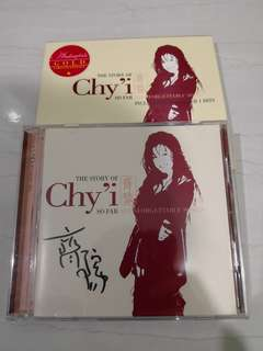 齐豫 The Story Of Chy'i autographed CD