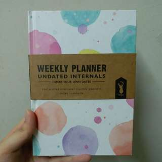 Typo Undated Weekly Planner