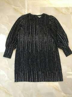 H&M LongSleeve Silk Dress