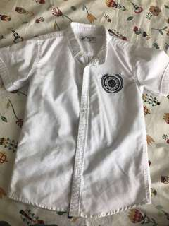 Beverly Hills Polo White Shirt