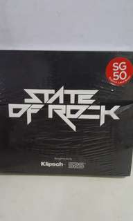 Cd English state of rock