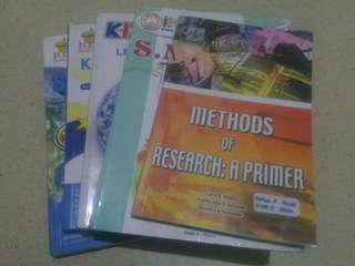 SUPER SALE! Grade 9 Textbooks (6 books)