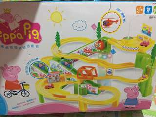 Peppa pig sliding car character