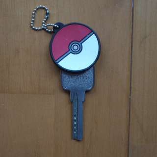 Pokemon Pokeball Keychain, Keycover, For Keys