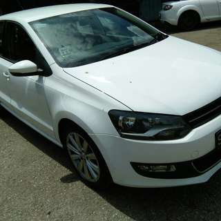 VW GOLF POLO 2010